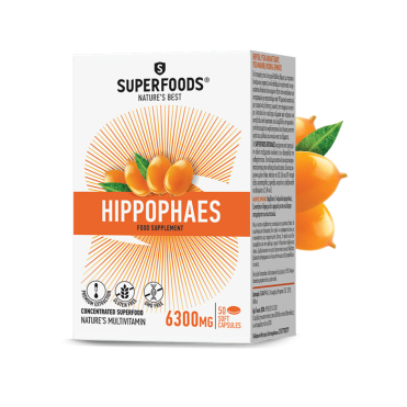Superfoods Hippophaes caps. N30