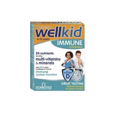Wellkid Immune närimistab. N30
